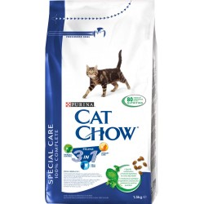 CAT CHOW  FELINE 3v1 1,5kg