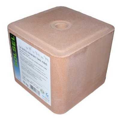 Solný liz univerzál bez mědi 10kg -šedá