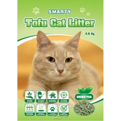 Smarty Tofu Cat Litter-Green Tea-podestýlka 6lt