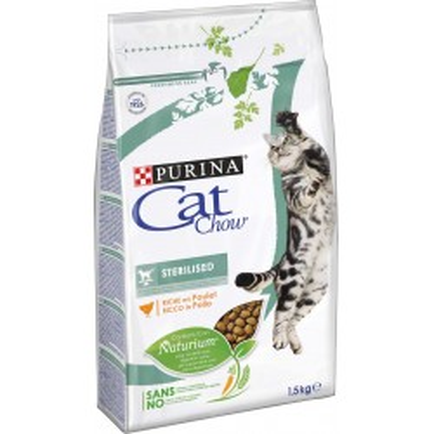 CAT CHOW Sterilized 1,5kg