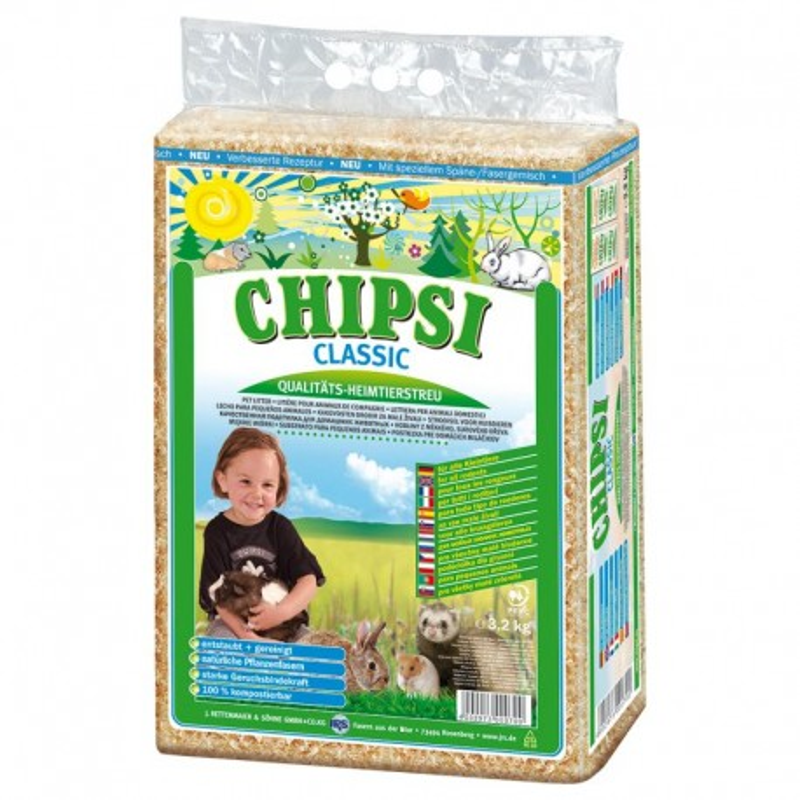 CHIPSI Clasic 60l.- 4kg(JRS)