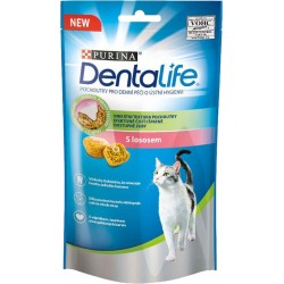 DENTALIFE CAT s lososem 40g